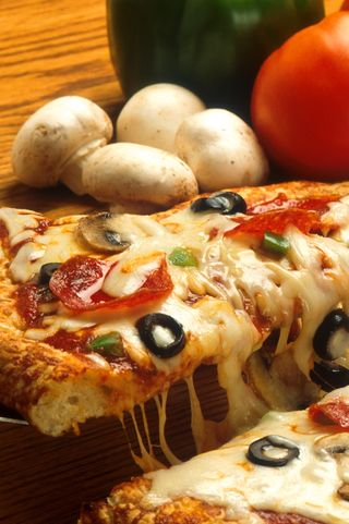 Обои на телефон пицца, еда