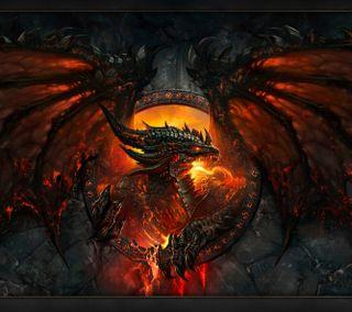 Обои на телефон дракон, wow, worldofwarcraft, dragon