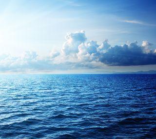 Обои на телефон природа, облака, море, sea hd