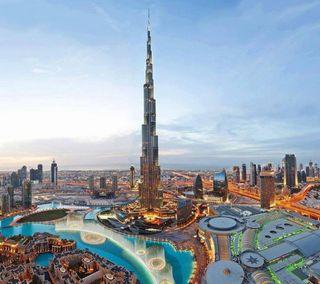 Обои на телефон burj khalifah, другие, башня, дубай, бурдж