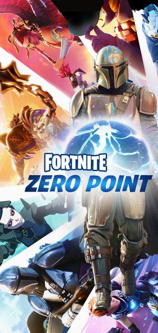Обои на телефон выемка, фортнайт, скины, сезон, zero point, oneplus, fortnite zero notch, fortnite, chapter 2 season 5, battlepass
