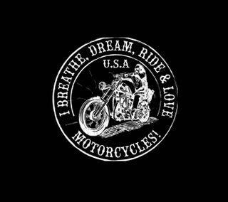 Обои на телефон череп, поездка, мотоциклы, 1440x1280px, motor