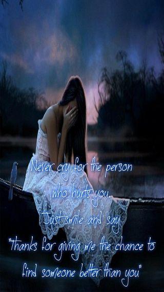 Обои на телефон ты, повредить, одиночество, никогда, девушки, грустные, болит, never cry, cry