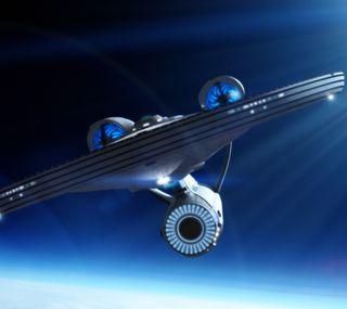 Обои на телефон энтерпрайз, фикция, наука, звезда, uss enterprise, trek, science fiction