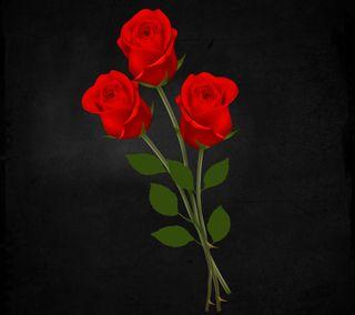 Обои на телефон естественные, цветы, романтика, розы, приятные, природа, новый, любовь, красые, love, 3д, 3d red roses, 3d