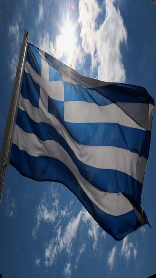 Обои на телефон греция, флаг, синие, небо, греческий, белые, greek flag, greece flag, gr