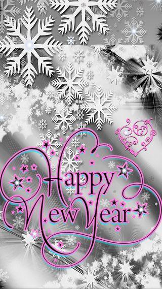 Обои на телефон текст, снежинки, серые, праздник, рождество, новый, зима