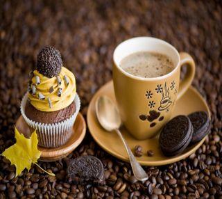 Обои на телефон шоколад, печенье, конфеты, кекс, еда, chocolate cream