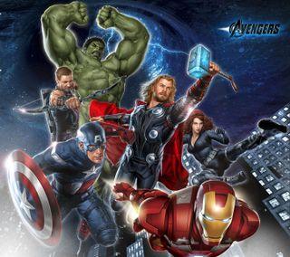 Обои на телефон халк, трон, тор, супермен, мстители, hd, avengers hd, 1440x1280avengers