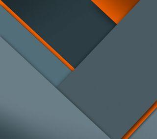 Обои на телефон android, lollipop, дизайн, андроид, оранжевые, серые, серебряные, материал