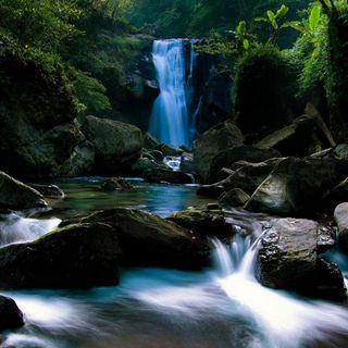 Обои на телефон водопад, осень, вода