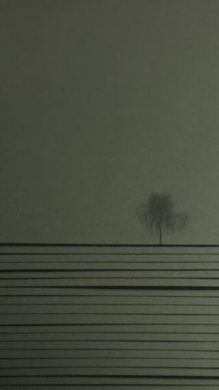 Обои на телефон материал, серые, простые, монохромные, дизайн, дерево, papertree