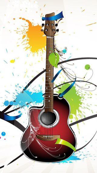 Обои на телефон классика, гитара, gitar