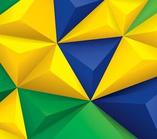 Обои на телефон геометрические, цветные, текстуры, красочные, дизайн, бразилия, абстрактные
