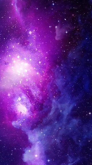 Обои на телефон солнечный, фиолетовые, природа, пейзаж, небо, космос, звезды, вселенная, solar space purple