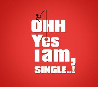 Обои на телефон один, цитата, сердце, рисунки, прекрасные, написано, милые, любовь, друзья, love, i am single