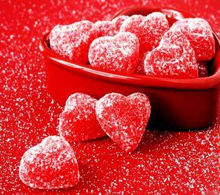 Обои на телефон сладости, сахар, сердце, любовь, красые, love