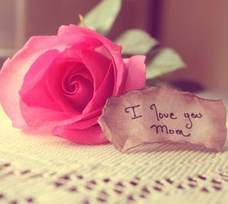 Обои на телефон подарок, розы, милые, мама, день, mother day
