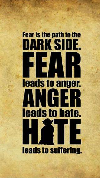 Обои на телефон фантастика, ненависть, темные, страх, классика, йода, злость, звезда, войны, бок, yoda - fear, 70s