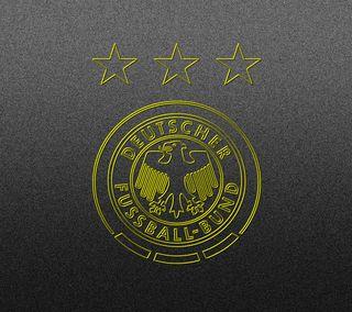 Обои на телефон германия, футбольные, футбол, серые, логотипы, золотые, знаки