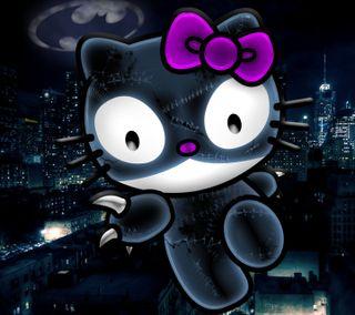 Обои на телефон привет, котята, комиксы, женщина кошка, готэм, город, бэтмен, kitty sanrio gotham, hello catwoman, dc