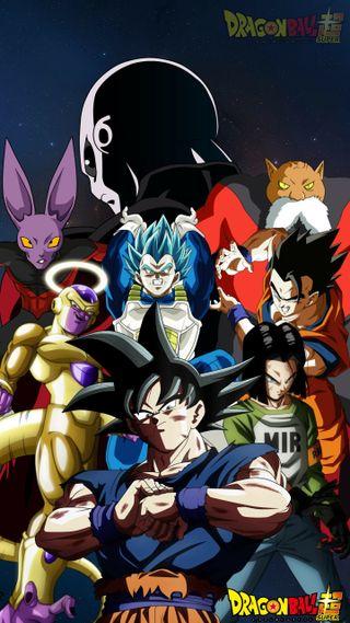 Обои на телефон гохан, супер, мяч, дракон, гоку, вегета, аниме, андроид, jiren, freeza, dragon, android