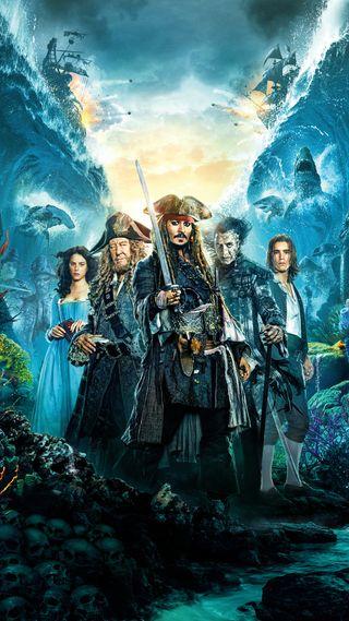 Обои на телефон пираты, фантазия, море, карибсий, война, арт, pirates of caribbean, johnny depp, art