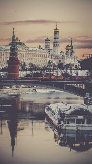 Обои на телефон россия, moscow, kremlin