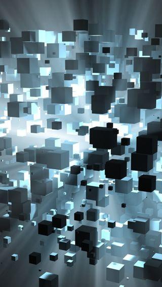 Обои на телефон куб, цифровое, космос, абстрактные, cubic