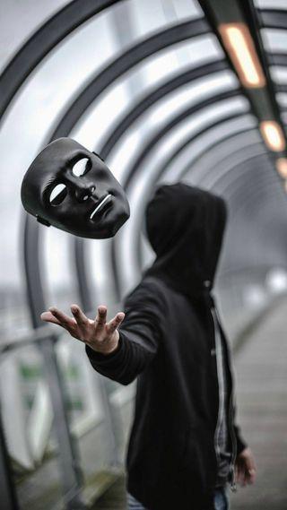 Обои на телефон маска, mask off