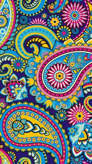 Обои на телефон текстуры, цветные, пейсли, микс, красочные, дизайн, арт, patterm, art