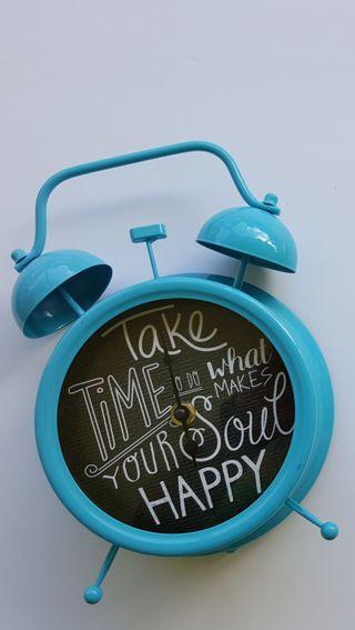 Обои на телефон часы, время, синие, take
