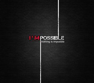 Обои на телефон ничего, невозможно, мудрые, вдохновение, поговорка, возможный