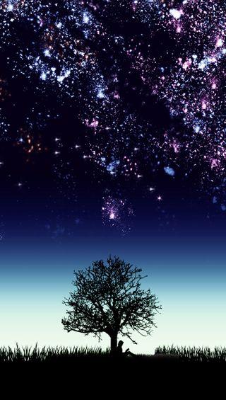Обои на телефон космос, темные, прекрасные, ночь, небо, space wallpaper