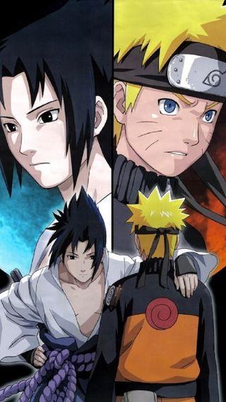 Обои на телефон учиха, узумаки, саске, наруто, naruto and sasuke
