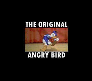 Обои на телефон фейсбук, утка, анимация, птицы, лол, злые, забавные, orignal, lol, donal
