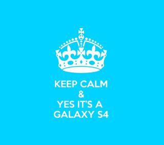 Обои на телефон спокойствие, синие, самсунг, галактика, samsung, s4, keep calm, keep, galaxy s4