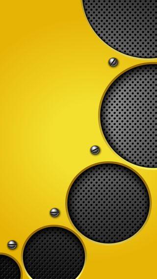 Обои на телефон металлические, золотые, желтые, абстрактные, hd, gold volume, 929