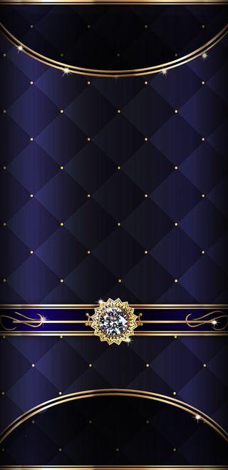 Обои на телефон элегантные, синие, симпатичные, прекрасные, золотые, бриллиант, royal