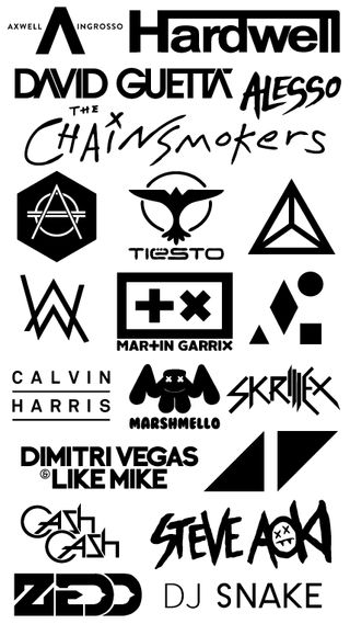 Обои на телефон зефир, музыка, мартин, логотипы, диджей, the chainsmokers, skirllex, martin garrix, edm, dj logos, david guetta, calvin harris