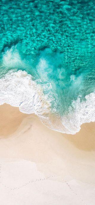 Обои на телефон эпл, тропические, телефон, пляж, океан, небо, морской берег, море, saifulwallpad, iso, hd, apple