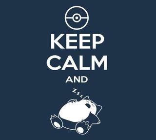 Обои на телефон спокойствие, сон, покемоны, ленивый, keep calm