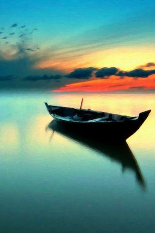 Обои на телефон лодки, gfd