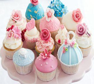 Обои на телефон еда, десерт, cupcakes