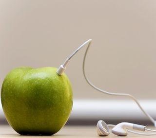 Обои на телефон естественные, эпл, nexus, natural apple device