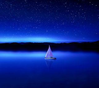 Обои на телефон глубокие, синие, море