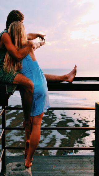 Обои на телефон пара, любовь, love
