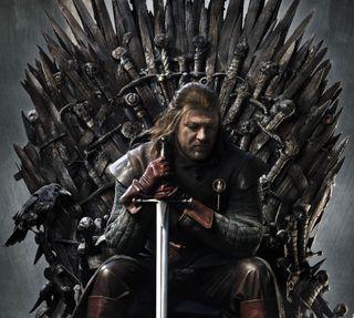 Обои на телефон трон, старк, меч, игра, железный, iron throne, got, eddard stark