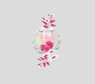 Обои на телефон маргаритка, розы, дизайн, rose and daisy 3
