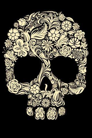 Обои на телефон скелет, skeleton p, r skeleton